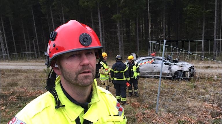 Marcus Walldén, räddningsledare