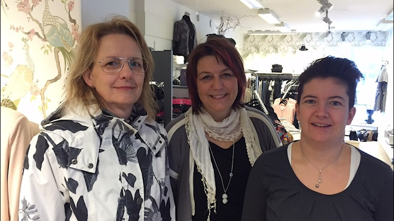 Rita Dahmberg, Linda Roos, Jenny Josefsson