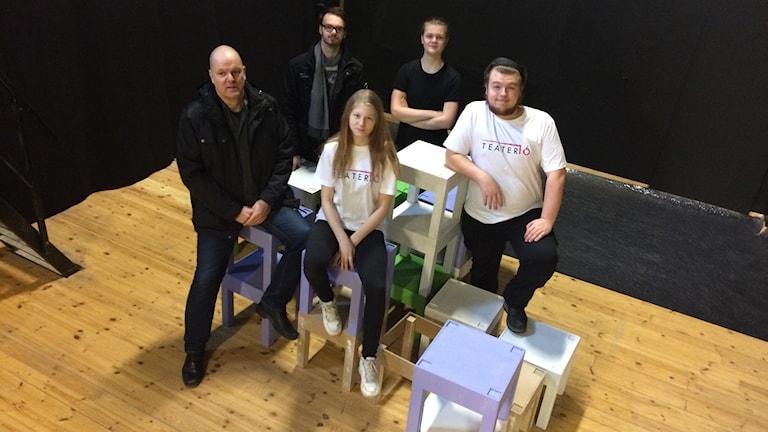 Teater 16 i Ljungby vill mer än bara skådespela. Foto: Per Brolléus