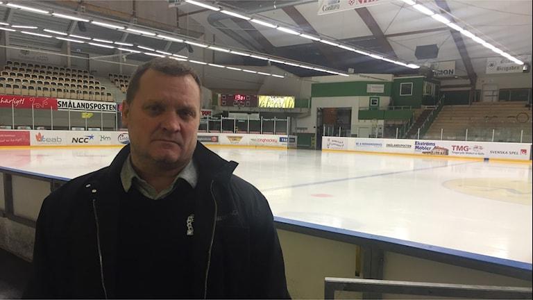 Tingsryds tränare Magnus Sundquist.