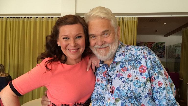 Lotta Engberg och Hasse Andersson