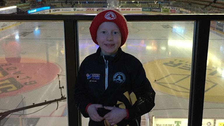 Olle Tideman, 7 år. Foto: Privat