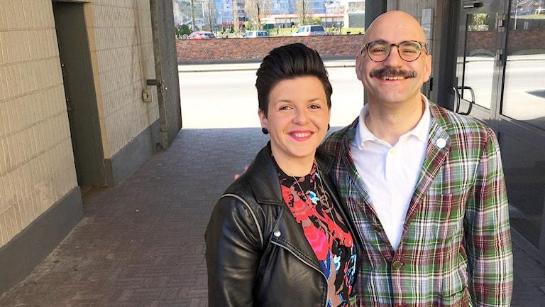 Magnus Holm och Suzana Mocevic