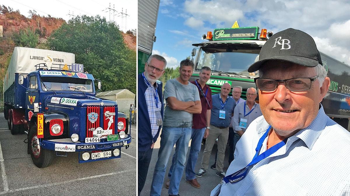 Lastbilar i Ljungby, Roland Berg