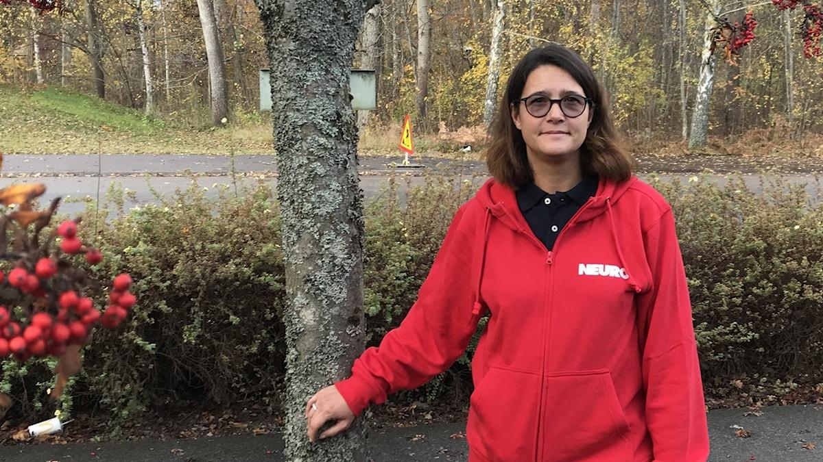 Jennie Hedrén Hasselros. vid Rönn