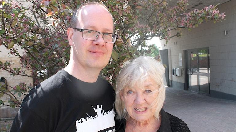 Hans Erik Holgersson och Monica Dominique