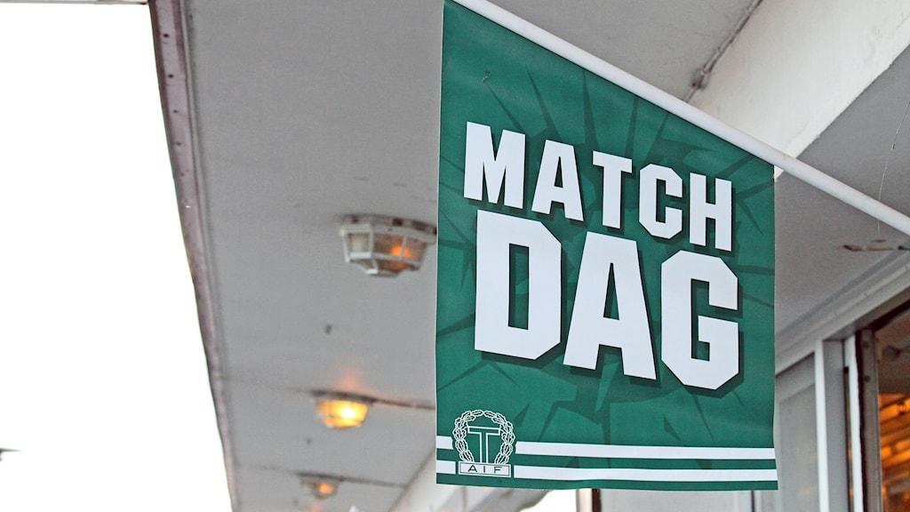 Taifs matchdags-flagga