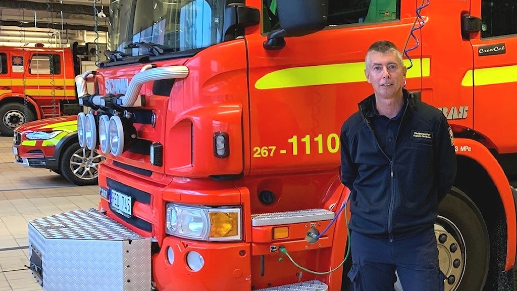 Joakim Karlsson, räddningschef Värends räddningstjänst.