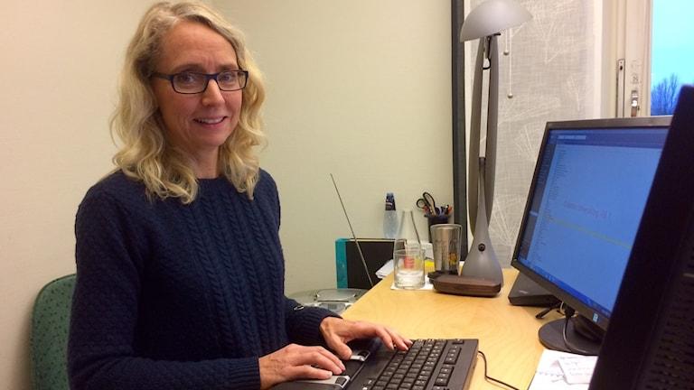 Magdalena Hellerstedt, ansvarig för e-hälsotjänsterna i Region Kronoberg.