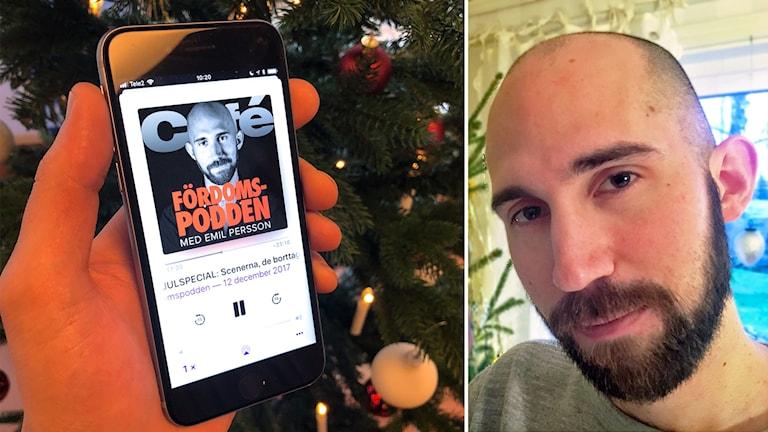 Emil Persson driver den populära Fördomspodden