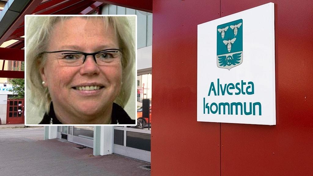 Kristiina Kosunen Eriksson. Kommunhuset i Alvesta.