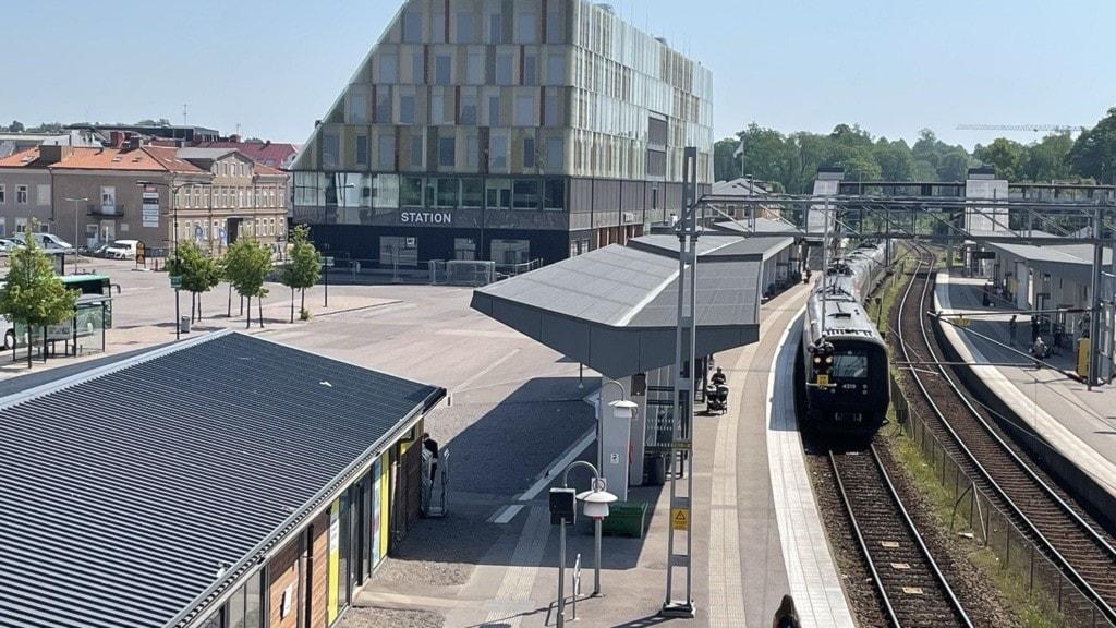 Växjö kommun och stationshus, stadshus
