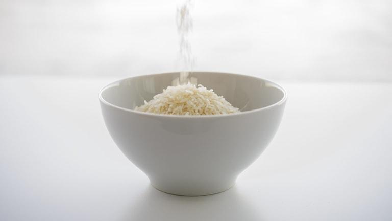 ris i en skål