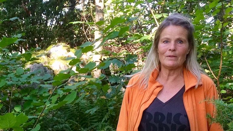 Jägaren Lisa Hjertonsson från Asa