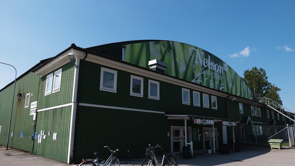 Ishallen i Tingsryd. Nelson Garden Arena