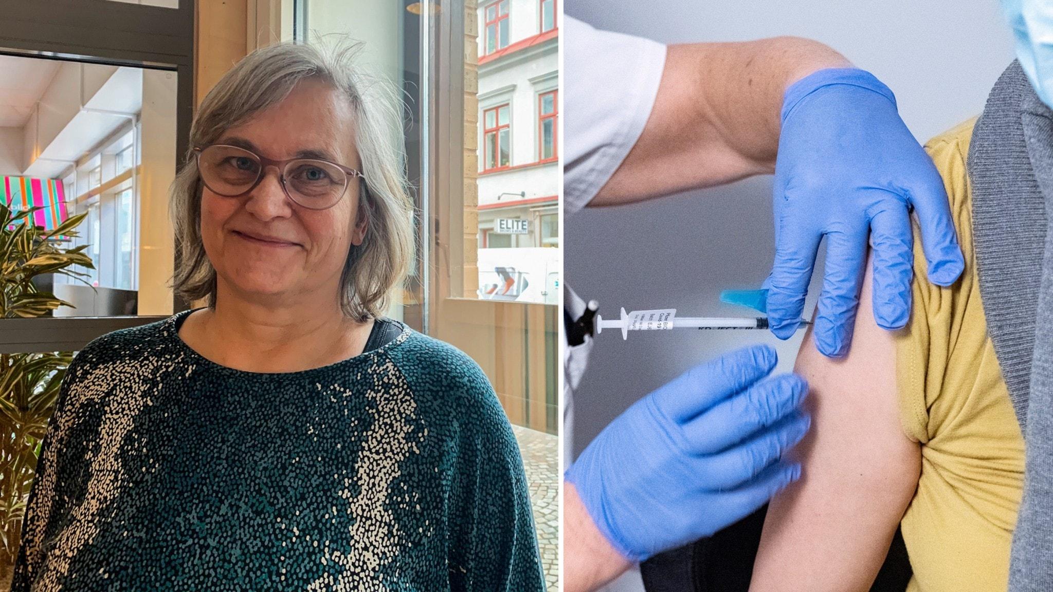 Regionen halverar första vaccinationsgruppen i fas fyra