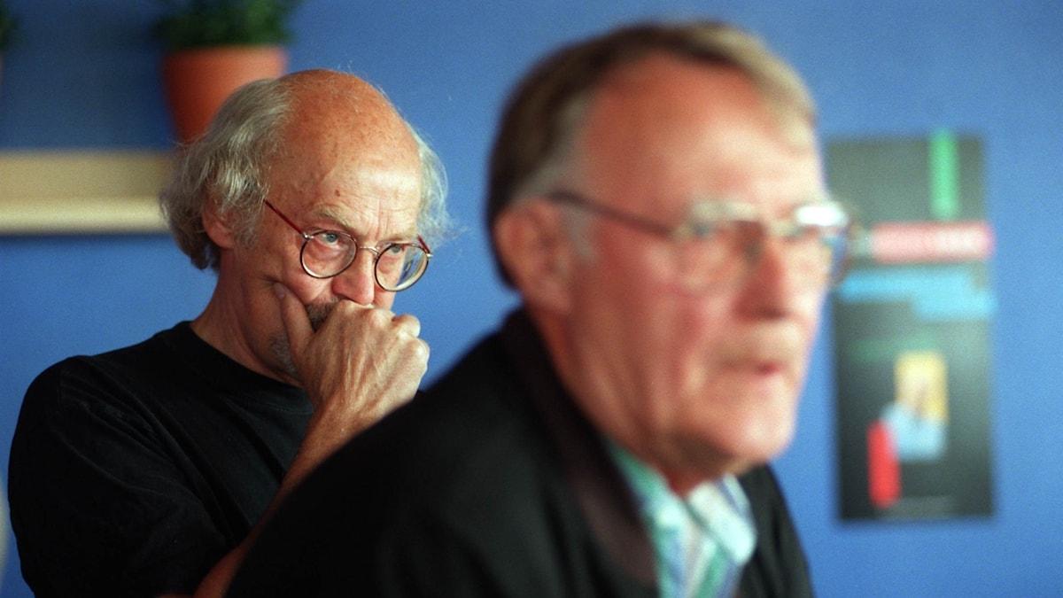 Bertil Torekull och Ingvar Kamprad