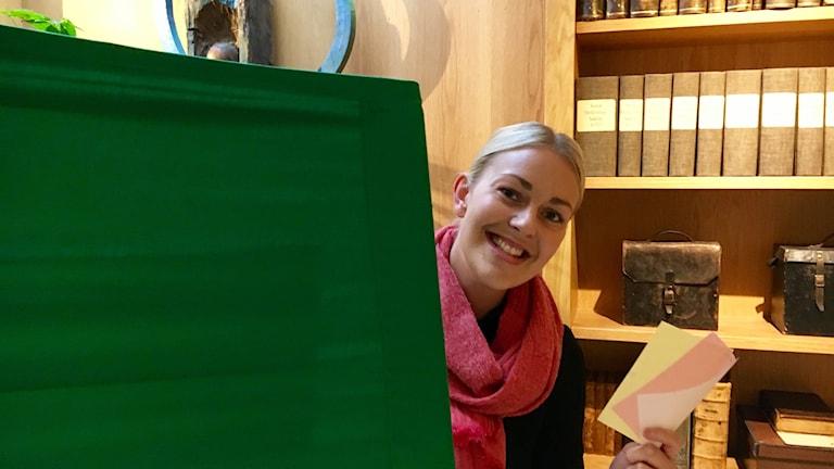 Emma Wallin är valsamordnare i Växjö Stift