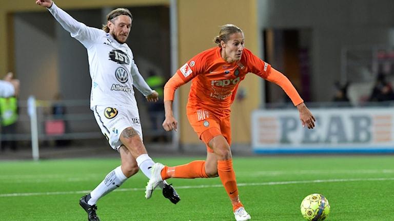 Matchbild från mötet Eskilstuna-Öster