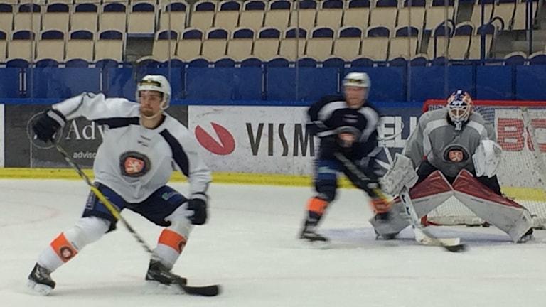 Viktor Fasth står i målburen