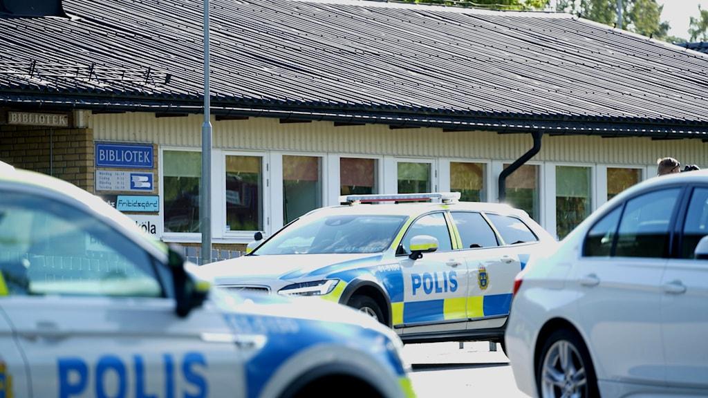 Bombhot på Braås skola.