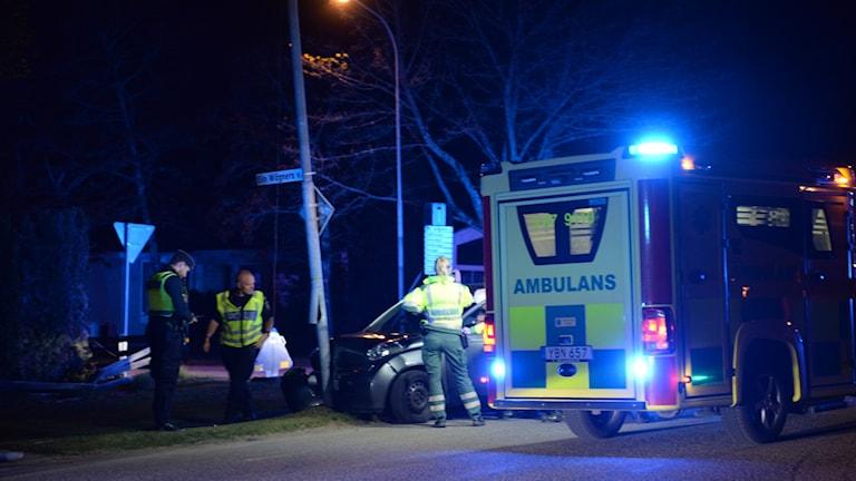 Trafikolycka Furutåskolan