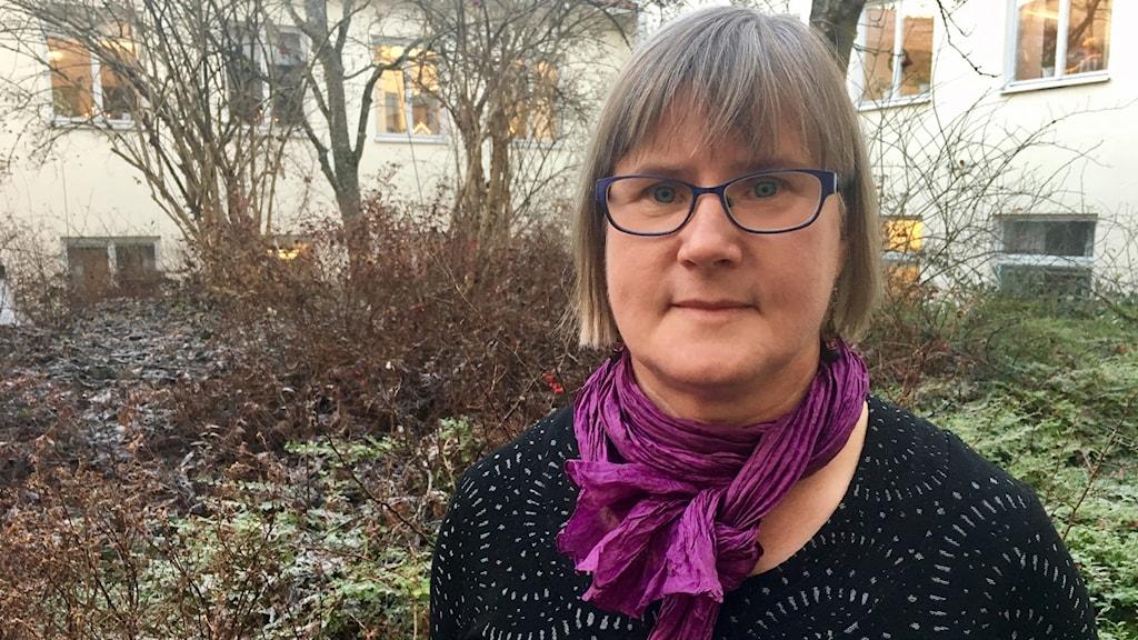 Inger Karlsson, miljöskyddshandläggare på länsstyrelsen