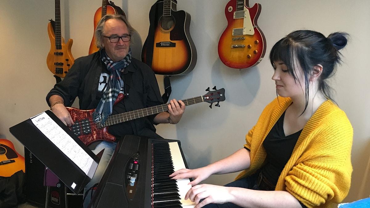 Shona Melis och Magnus Lundin