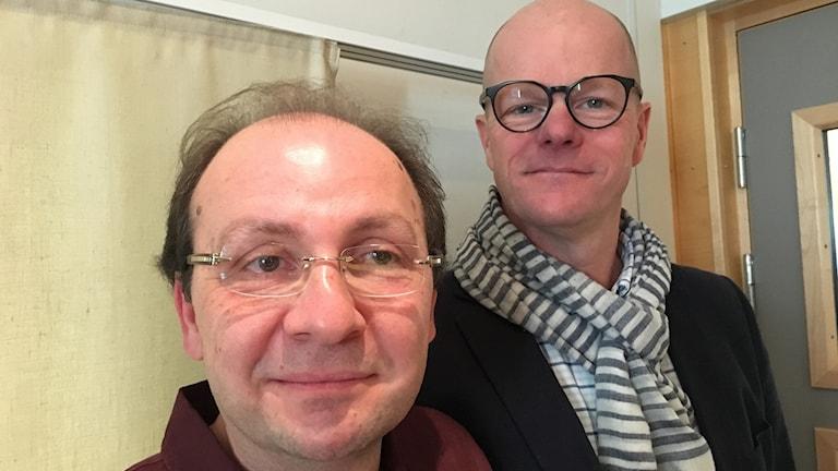 Eyad Molki & Jens Vikingsson, pappa till Pappornas kök