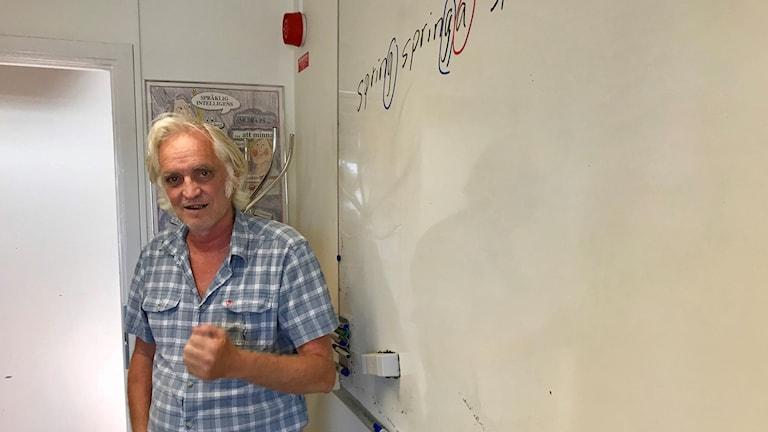 Stefan Andersson, SFI-lärare