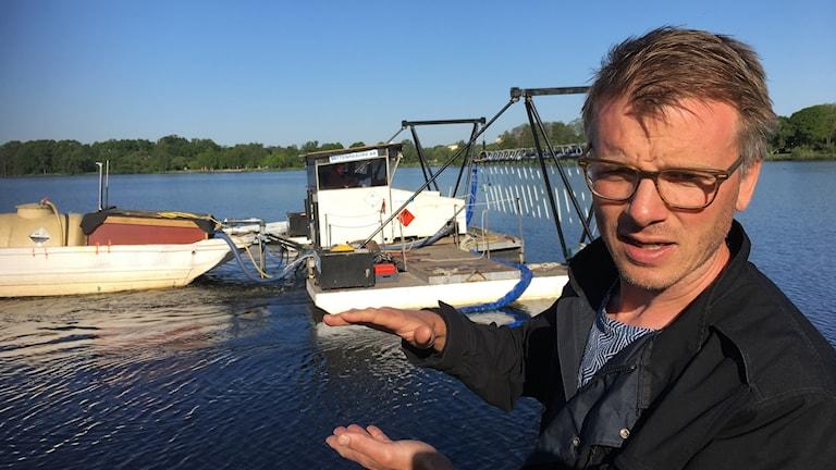 Andreas Hedrén, Sjömiljöansvarig Växjö Kommun
