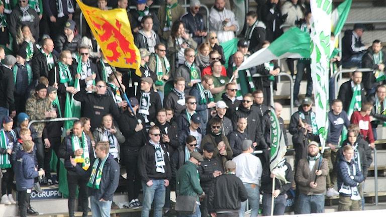 Jönköping Södras publik i Borås
