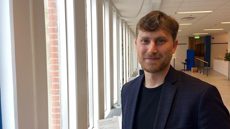 Greg Golding, chef på arbetsförmedlingen i Växjö