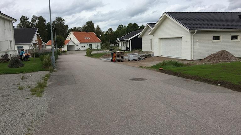 Många nya villor har byggts i Tävelsås