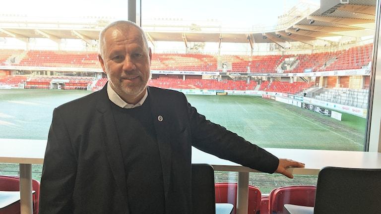 Henrik Larsson, tränare Växjö DFF.