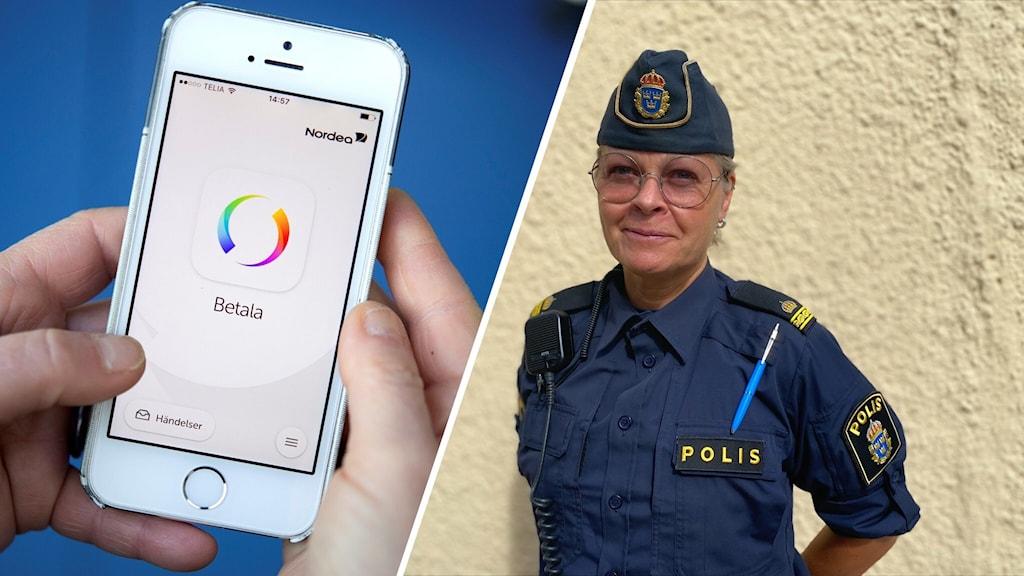 Anette Östman Ottosson, kommunpolis i Växjö