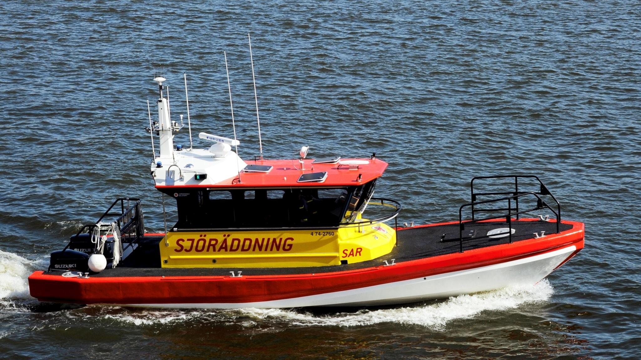 Mycket att göra för sjöräddningen i år