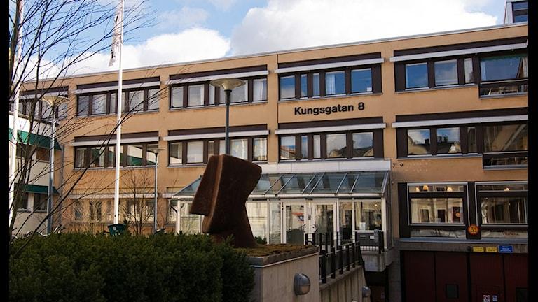 Växjö tingsrätt. Foto: Lennart Nilsson / SR