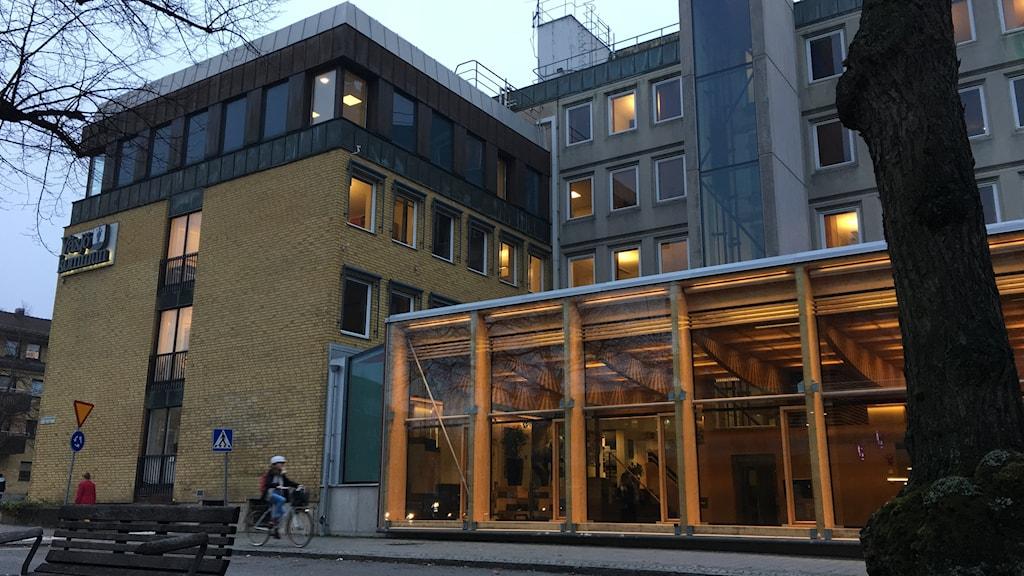 Bild på Växjö kommunhus