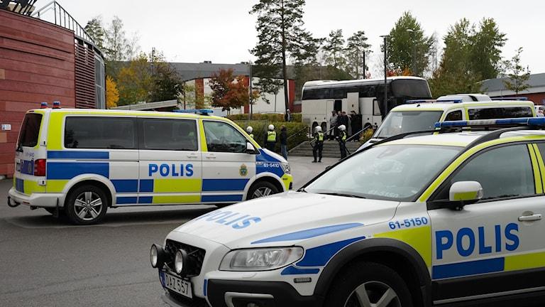 Kaos i publiken på match mellan Öster och Landskrona