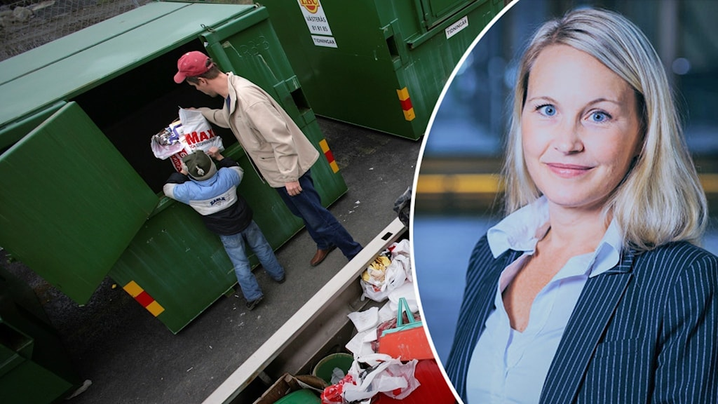Återvinning och Jessica Cedervall, vd SSAM