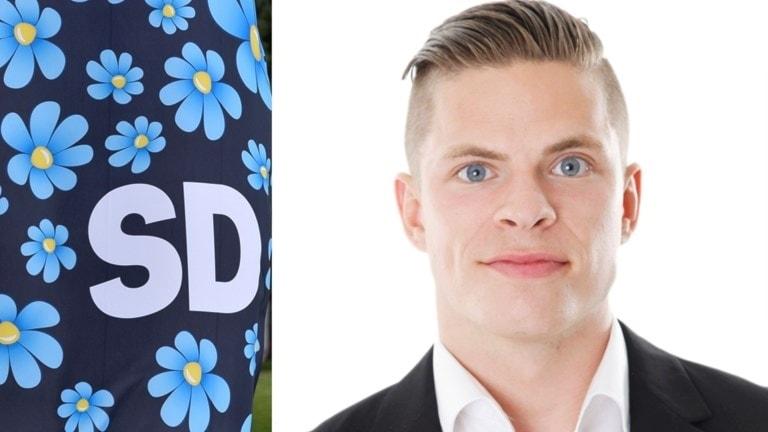 Nils Sjöqvist Axelsson, ordförande för SD i Växjö