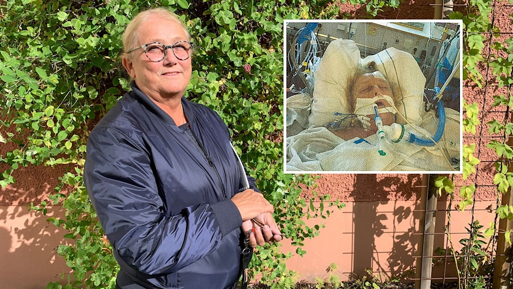 Jane Lindstrand från Växjö låg 11 dygn i respirator.