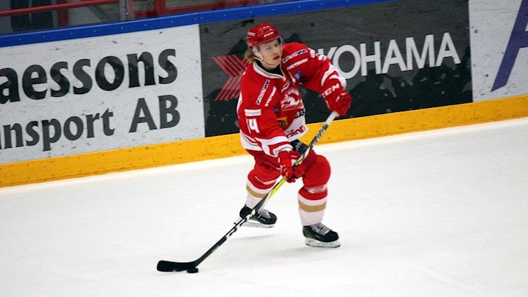 Trojaspelaren Alexander Edström