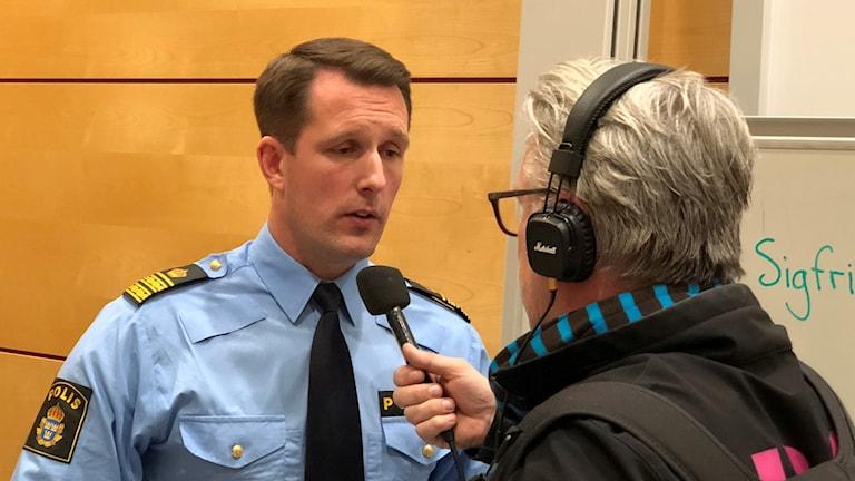 Polisen Mattias Sigfridsson.