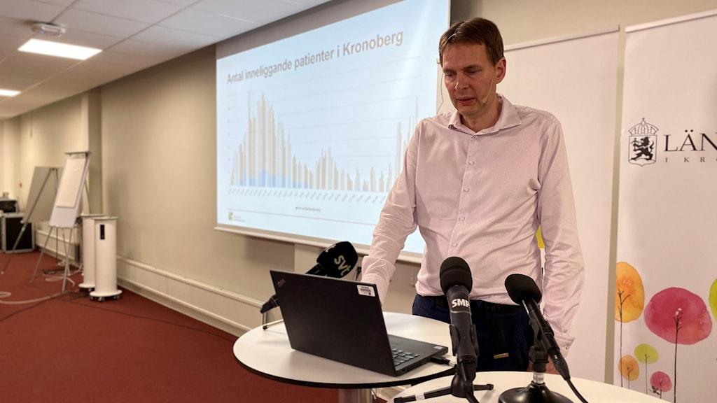 Region Kronobergs presskonferens