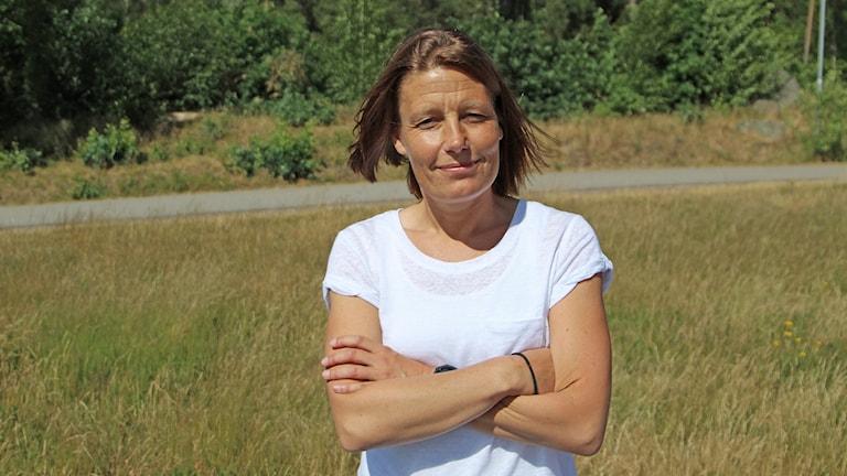P4 Kronobergs fotbollsexpert Hanna Höckert