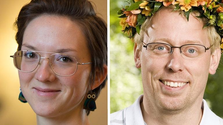 Johanna Jennische och Peter Settman.