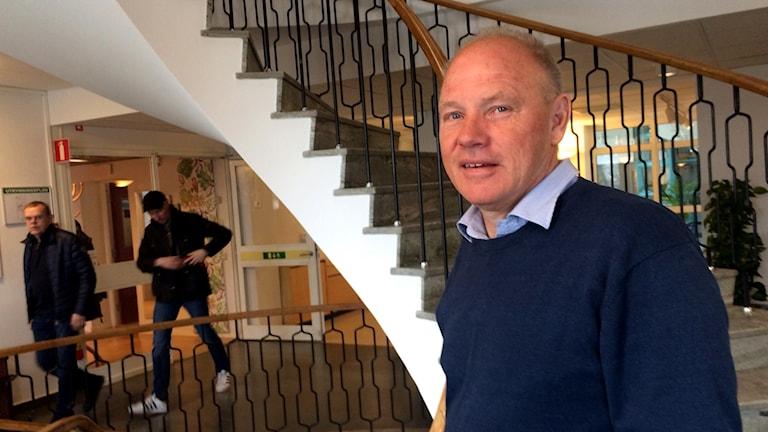 Kommunchef Roland Eiman hoppas att utredningens förslag blir verklighet och att Älmhult får ett servicekontor med åtta myndigheter under samma tak.