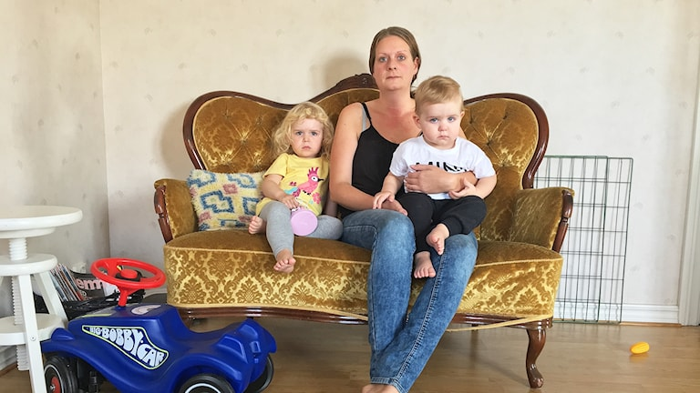 För trångt på förskolan i Ingelstad! Barnen tvingas vara i en gammal gympasal